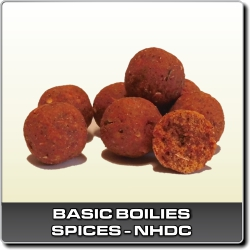 Jdi na Basic boilies hotové Spices-NHDC Infinity Baits