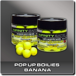 Pop Up Boilie Banana Infinity Baits