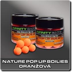 Jdi na Nature fluoro pop-up Oranžová Infinity Baits