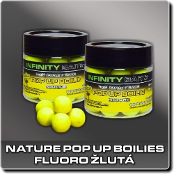 Jdi na Nature fluoro pop-up žlutá Infinity Baits