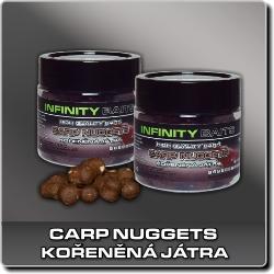 Jdi na Carp Nuggets dipované Kořeněná játra Infinity Baits