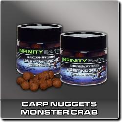 Jdi na Carp Nuggets dipované Monster Crab Infinity Baits