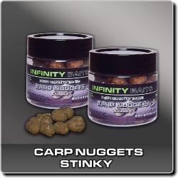 Jdi na Carp Nuggets dipované Stinky Infinity Baits