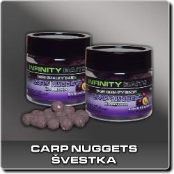 Jdi na Carp Nuggets dipované Švestka Infinity Baits