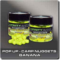 Jdi na Carp Nuggets pop-up Banana Infinity Baits