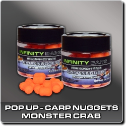 Jdi na Carp Nuggets pop-up Monster crab Infinity Baits