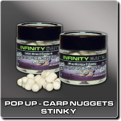 Jdi na Carp Nuggets pop-up Stinky Infinity Baits