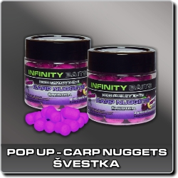 Jdi na Carp Nuggets pop-up Švestka Infinity Baits