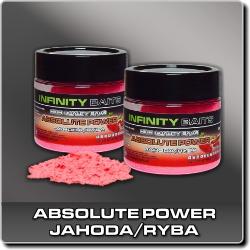 Jdi na Absolute Power fluoro Jahoda/Ryba Infinity Baits