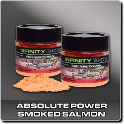 Jdi na Absolute Power fluoro Smoked salmon Infinity Baits