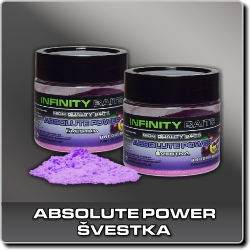 Jdi na Absolute power Švestka Infinity Baits