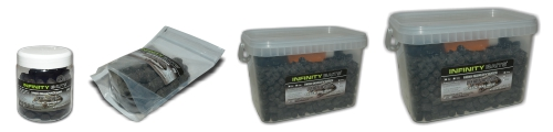 Pelety Black halibut obaly Infinity Baits