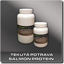 Jdi na Tekutou potravu Salmon Protein Infinity Baits