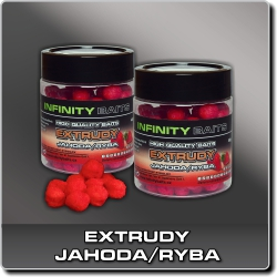 Jdi na Extrudu Jahoda/ryba Infinity Baits