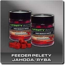 Jdi na Feeder Pelety Jahoda/ryba Infinity Baits