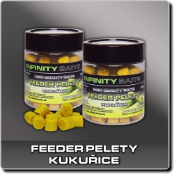 Jdi na Feeder Pelety Kukuřice Infinity Baits