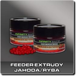 Jdi na feeder extrudy Jahoda/ryba Infinity Baits