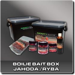 Jdi na Boilie bait box Jahoda/ryba Infinity Baits