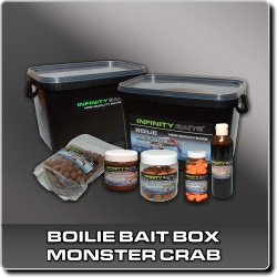 Jdi na Boilie bait box Monster crab Infinity Baits