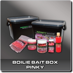 Jdi na Boilie bait box Pinky Infinity Baits