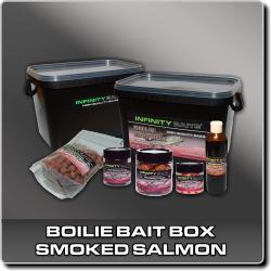 Jdi na Boilie bait box Smoked salmon Infinity Baits