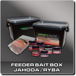 Jdi na Feeder bait box Jahoda/ryba Infinity Baits