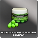 Nature Pop Up boilies - fluoro zelená - 14 mm