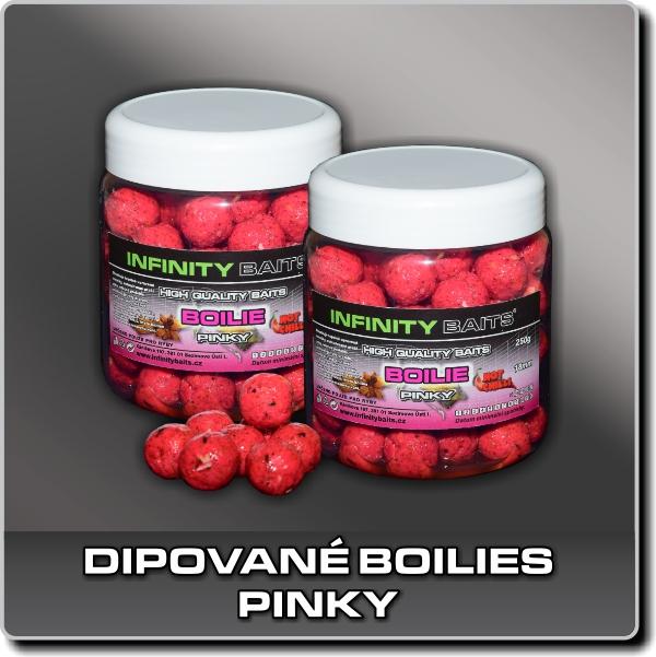 Dipované boilies - Pinky