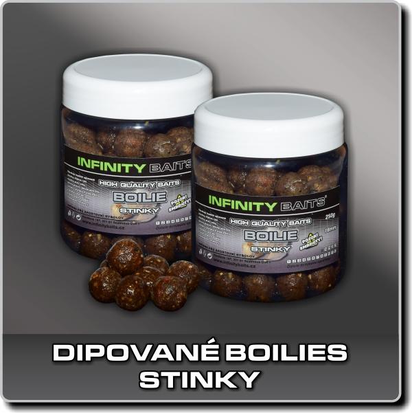 Dipované boilies - Stinky