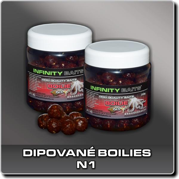 Dipované boilies - N1