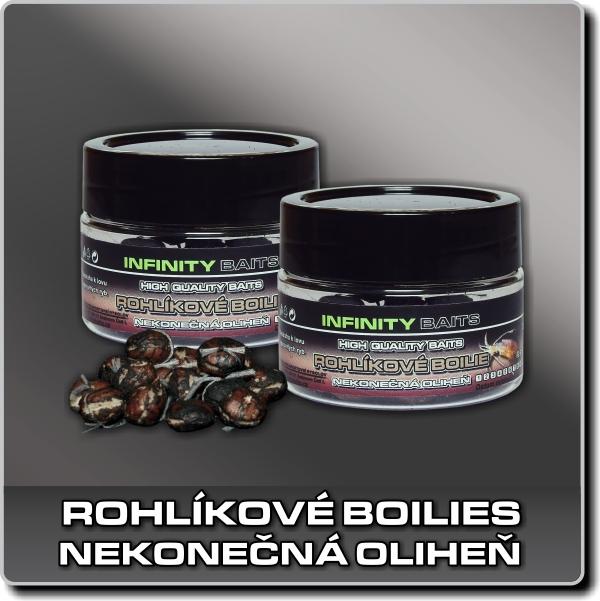 Rohlíkové boilies - Nekonečná oliheň