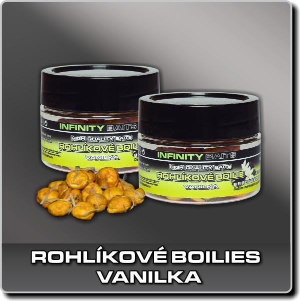 Rohlíkové boilies - Vanilka