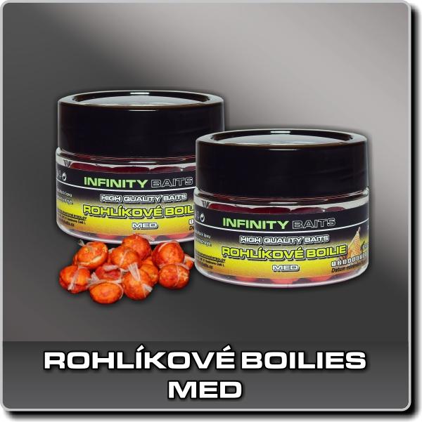 Rohlíkové boilies - Med