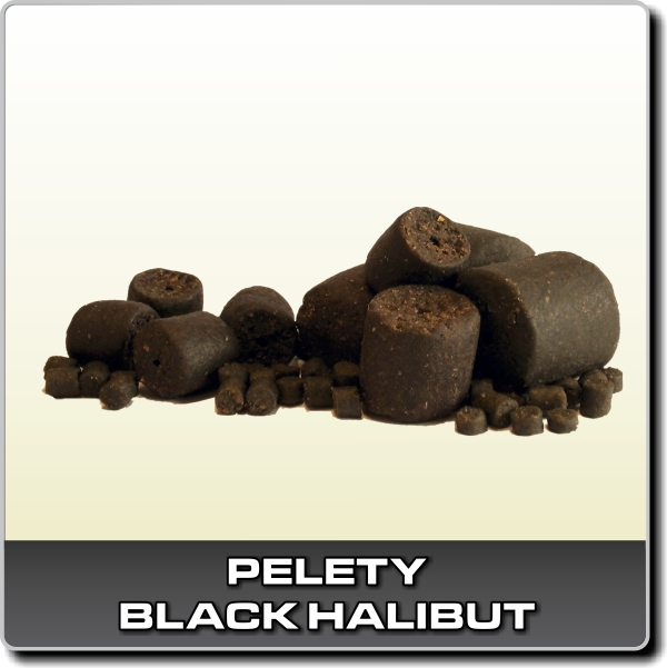 Black Halibut 1 kg - 22 mm
