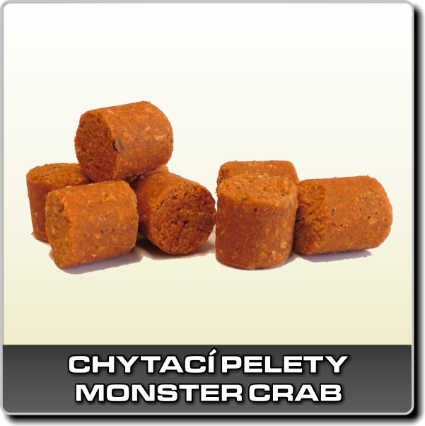 Chytací pelety - Monster crab 250 g - 18 mm