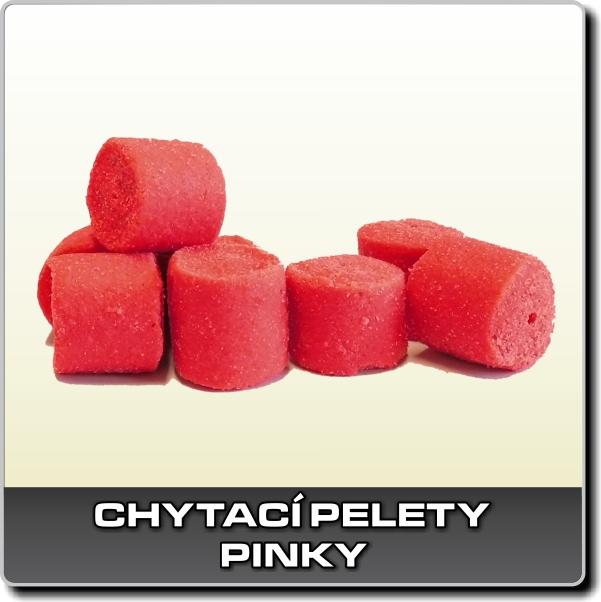 Chytací pelety - Pinky 250 g - 18 mm