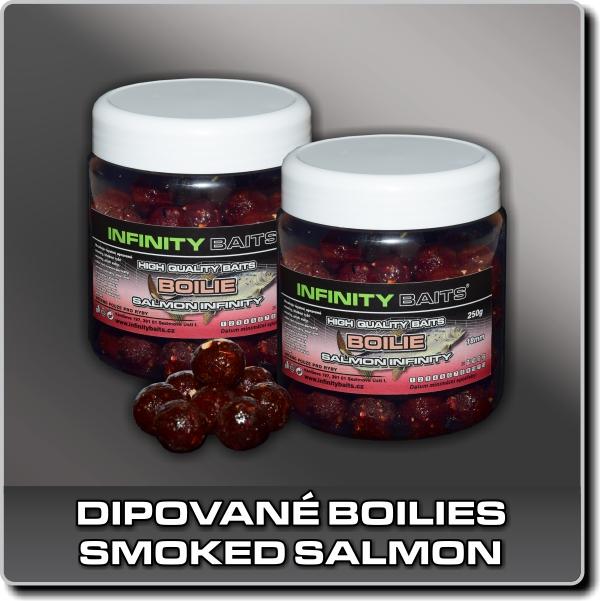 Dipované boilies - Smoked salmon