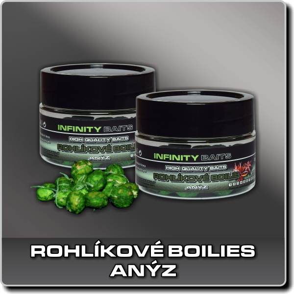 Rohlíkové boilies - Anýz