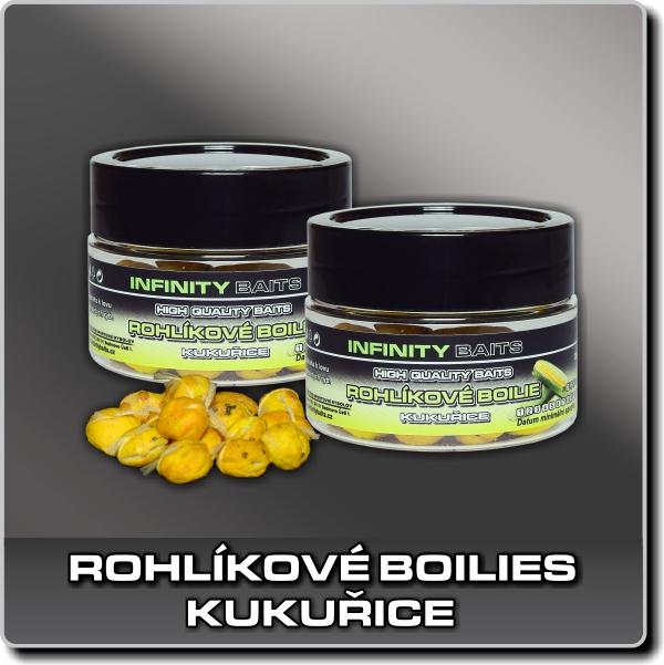 Rohlíkové boilies - Kukuřice