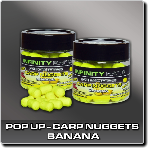 Pop Up Carp nuggets - Banana