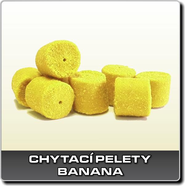 Chytací pelety - Banana 250 g - 18 mm