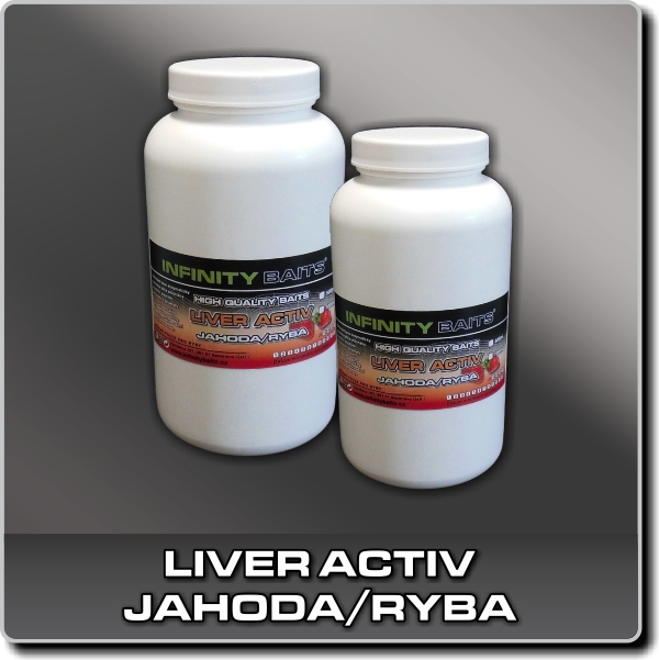Liver activ - Jahoda/ryba 500 ml