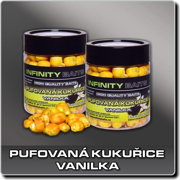 Pufovaná kukuřice - Vanilka