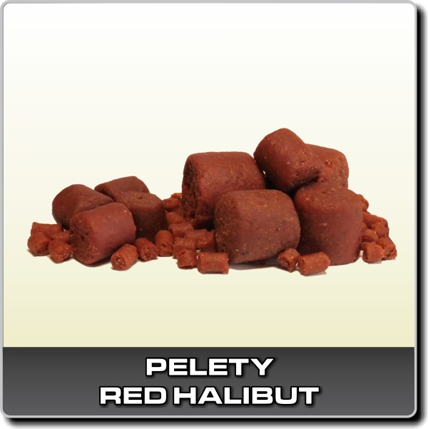 RED HALIBUT 1kg - 28mm