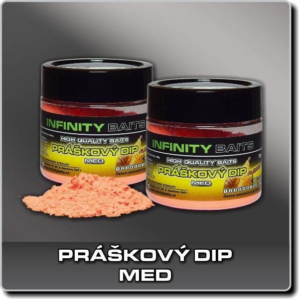 Práškový dip - Med
