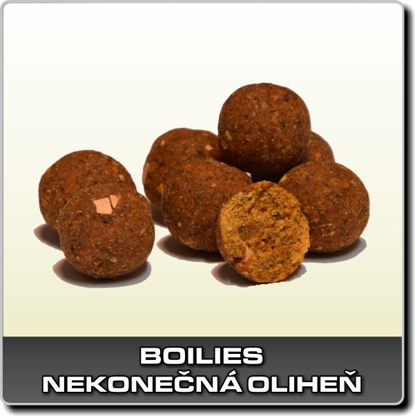 Boilies Nekonečná oliheň  - 1 kg 24 mm